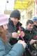 Маладыя людзі з ТЦСАН Іўеўскага раёна упрыгожылі велікоднае дрэва